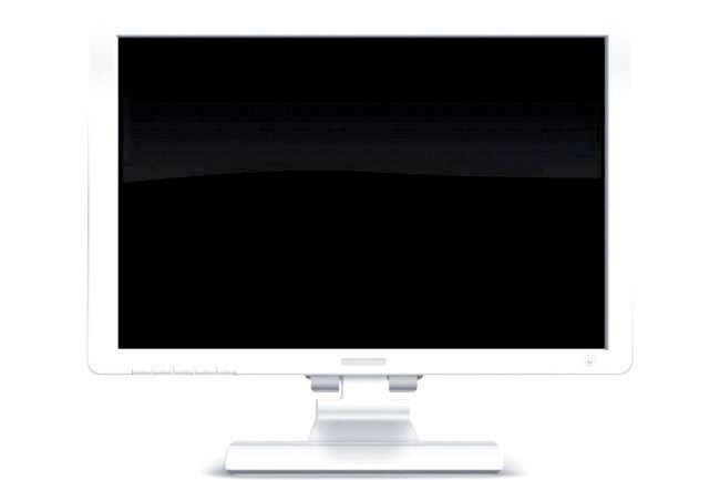 при включенні комп'ютера чорний екран