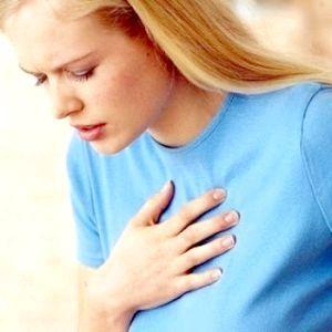 коліт в області серця