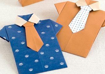 Конверт орігамі - оригінальне оформлення подарунка