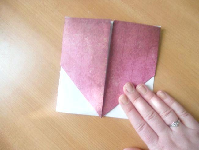 орігамі конверт для грошей