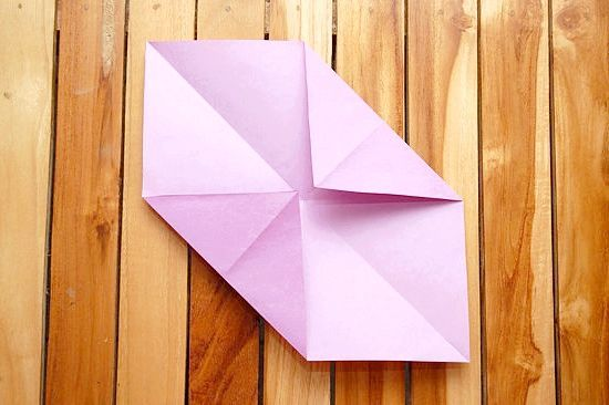 орігамі з паперу конверт