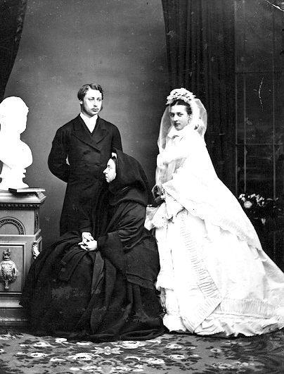 королева Вікторія і Альберт