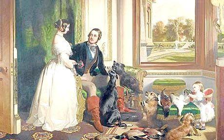 королева Вікторія і принц Альберт