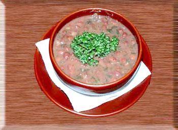 Лобіо з червоної квасолі рецепт