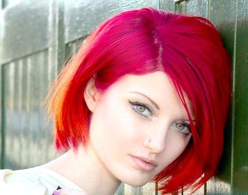 фарба для волосся червоного кольору