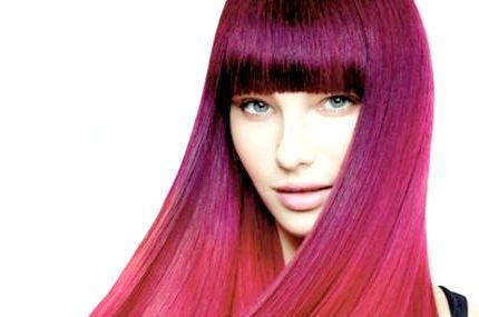 темно червоний колір волосся
