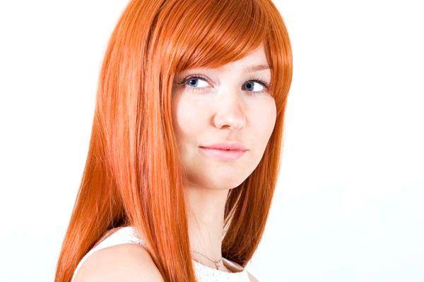 пофарбувати волосся в червоний колір