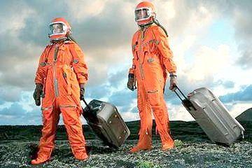 перші собаки полетіли в космос