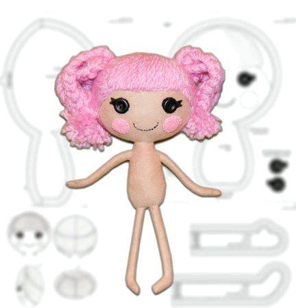 лялька Лалалупсі волосся нитки