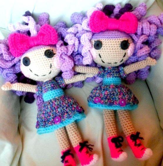лялька Лалалупсі з волоссям