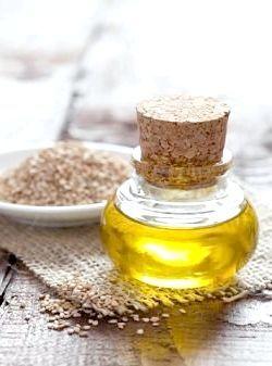 Кунжутну олію для волосся