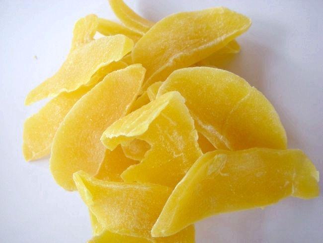Сушений манго калорійність