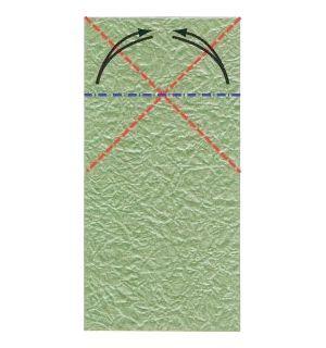 орігамі з паперу жаба