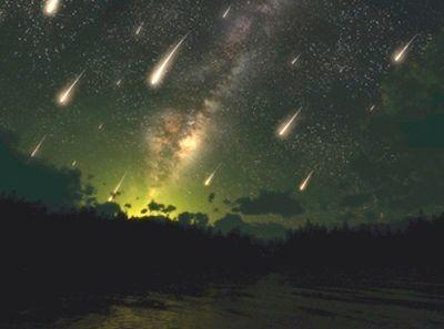Метеоритний дощ, звідки він береться