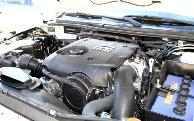 двигун Мітсубісі Л200