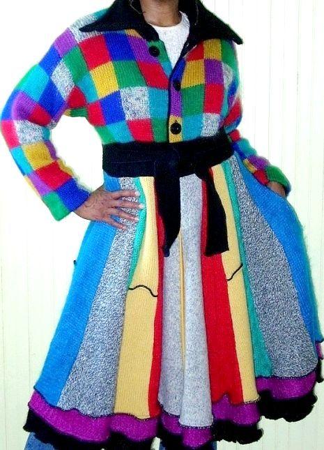 В'язане пальто для дівчинки