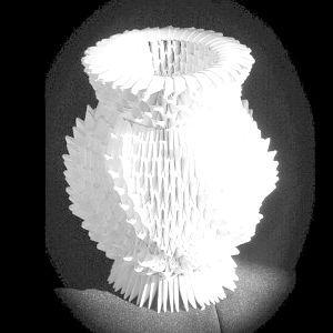 Модульне орігамі ваза