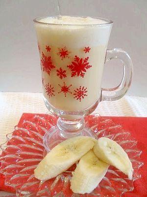 молочний коктейль з бананом рецепт