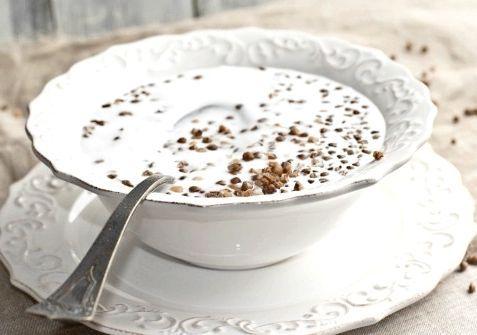 молочна гречана каша