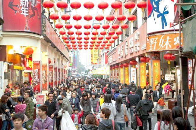 чисельність населення Китаю