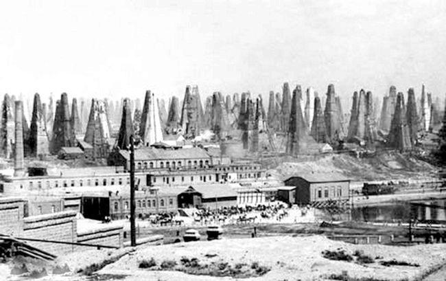 історія нафтової промисловості Росії