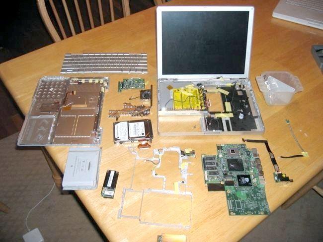 Трохи про те, як розібрати ноутбук правильно
