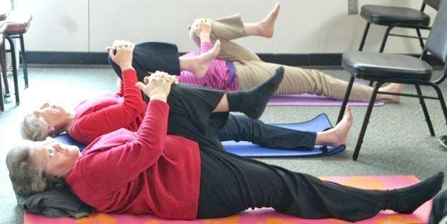 нескладна оздоровча гімнастика для довгожительства