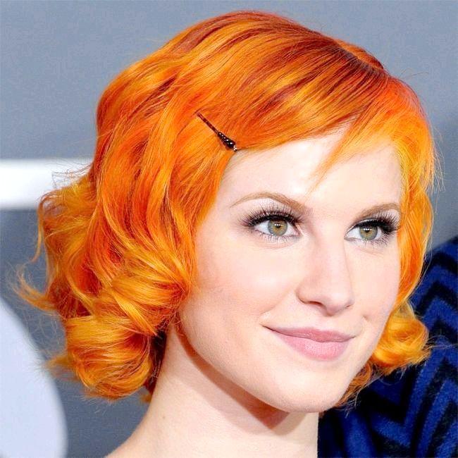помаранчевий колір волосся