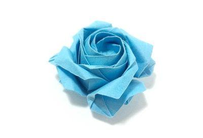 Орігамі квітка троянда