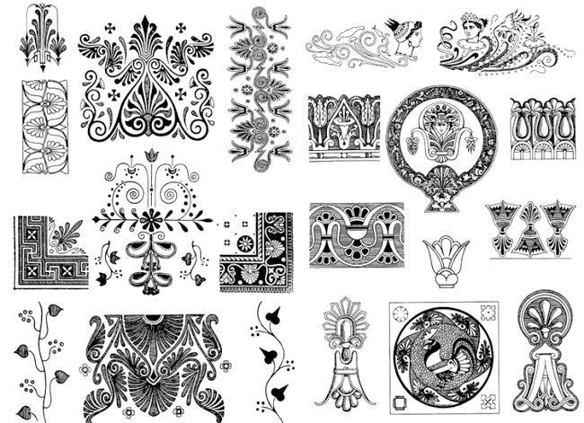 орнаменти для малювання