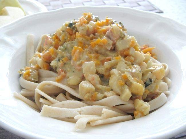 Паста з морепродуктами у вершковому соусі - варіанти приготування