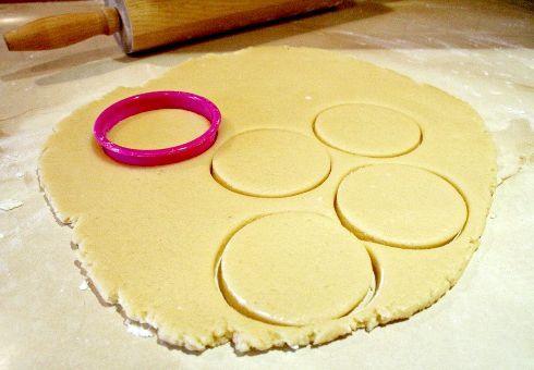рецепт гусячих лапок печиво
