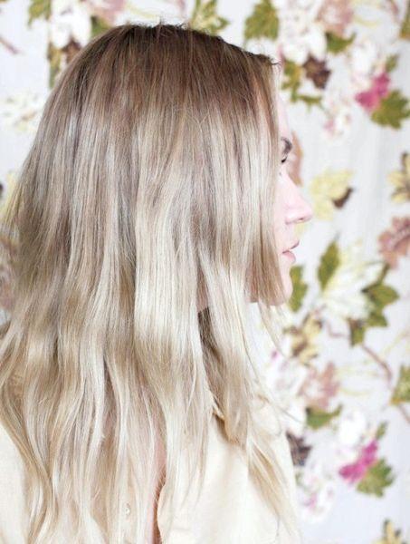 попелясто русявий колір волосся