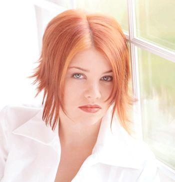персиковий колір волосся