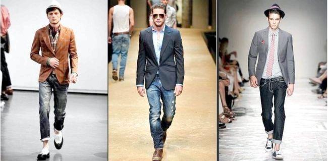 який піджак носити з джинсами