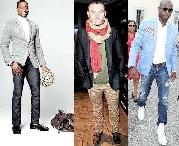джинси з піджаком чоловічий