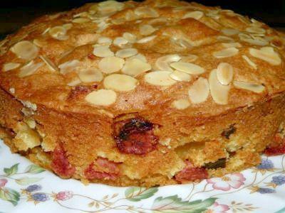 рецепт пирога з курагою