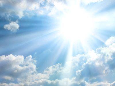 Чому небо блакитне? Тому, що у землі є атмосфера