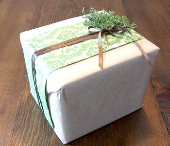 Новорічна подарункова упаковка своїми руками