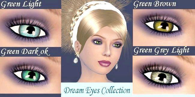 зелені очі фото