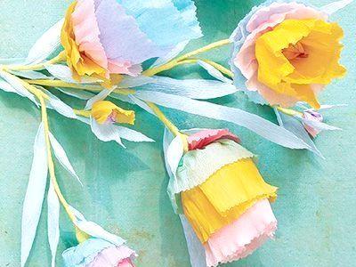 Вироби з гофрованого паперу. Квіти та букети