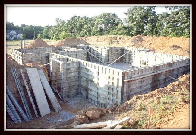 бетонна підготовка під фундамент