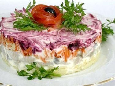 оформлення салатів