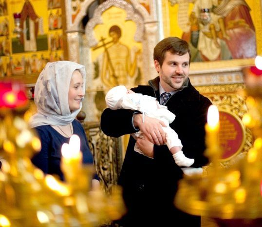 хрещення дитини свято
