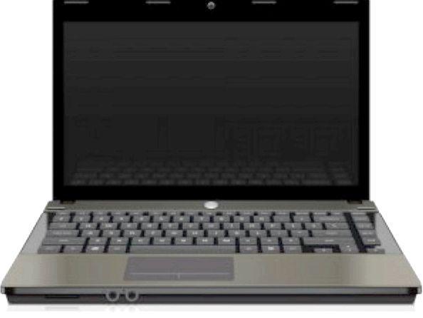 При включенні ноутбука чорний екран