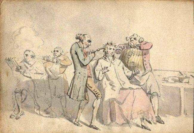 історія професії перукар