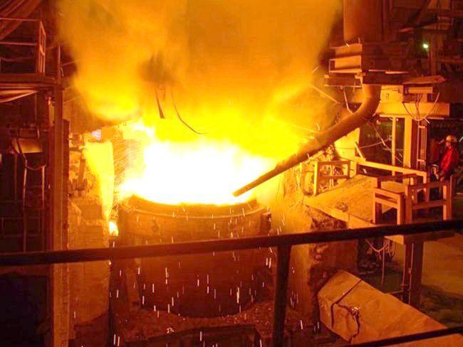 процес виробництва чавуну