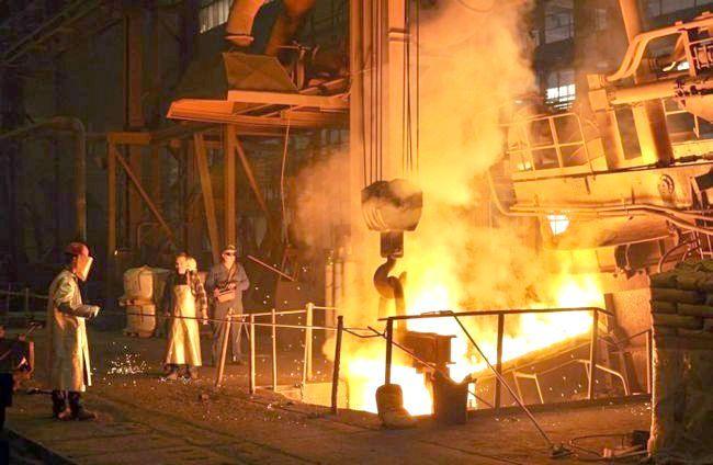 виробництво сталі в росії