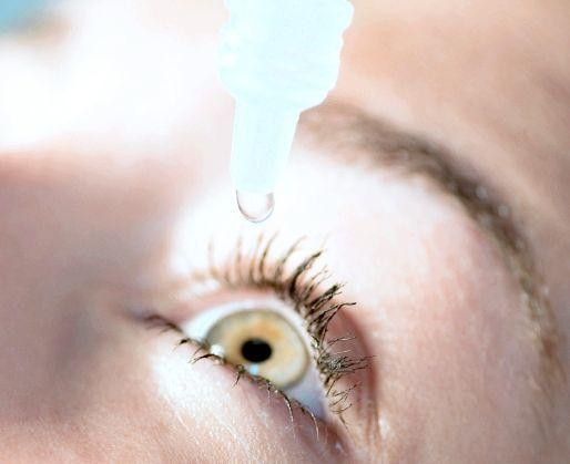 краплі для очей альбуцид