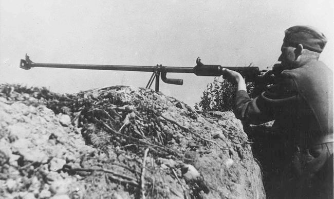 Протітанкову рушницю 1941 г